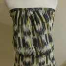 Cache womens strapless blouse top mini dress size XS