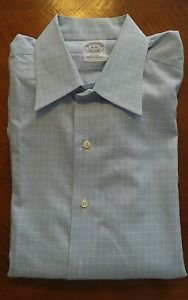 Brooks Brothers mens  long sleeve dress shirt size 16 - 33 non iron