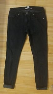 Forever 21 skinny denim womens jean size 26 black