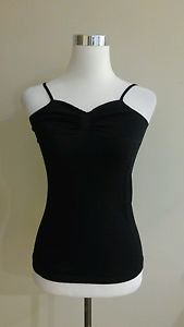 F&F womens tank top cami size S black