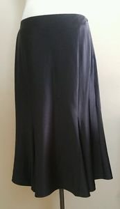 New york and company womens skirt size 10 waist 31 black