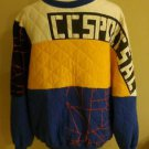 Vintages 80s original mens design sweater size M