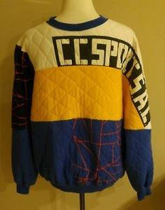 Vintages 80s original mens design sweater size M