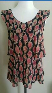 Mossimo womens blouse top size L