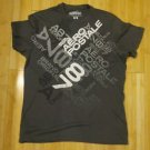 Aeropostale gray nineteen eighty seven men t-shirt size M