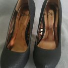 Atmosphere womens platform heels shoes size 8.5 black