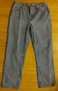Lee riders relaxed womens jean denim size 32