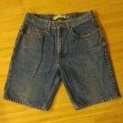 Gap easy fit mens bermuda jean shorts size 34