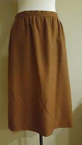 Evan picone womens skirt size 29 brown