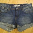 Vigoss collection womens jean shorts size 27 blue