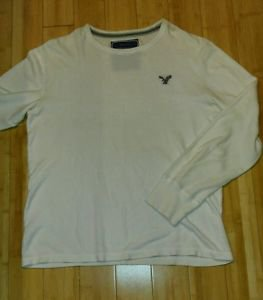 American eagle mens sweater size XL white