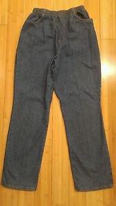 Chic denim jean womens elastic waist size 28 to 30