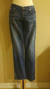 Armani exchange A/X womens boot cut jean denim size 30