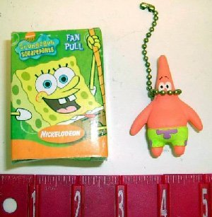 Nickelodeon Spongebob Squarepants Character Fan Pull (set of 4)