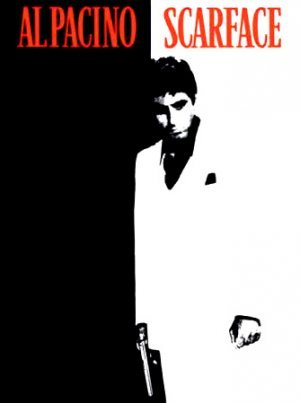 SCARFACE stickers  (set of 10)  FREE SHIPPING