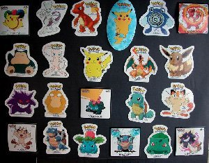 POKEMON STICKERS (12 stickers) FREE SHIPPING
