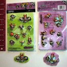 3D PowerPuff Girls Stickers.
