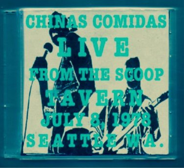 "CHINAS COMIDAS ""Live at The Scoop Tavern"""