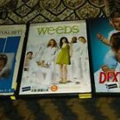 Lot Of 3 DVD's Weeds - Mentalist - Dexter W/ Security Device Intact *Brand New*