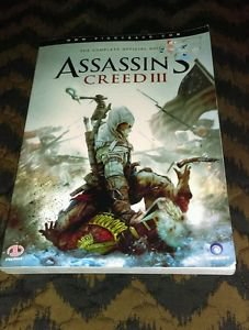 Assassin's Creed III Piggyback Complete Official Strategy Guide - Free Shipping!