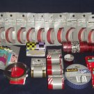 Huge Lot New (54 Rolls) Glitter-Designer-Magnet-Double Sided-Gift Birthday Tape
