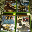 Lot Of 4 Original Xbox Games Used **100% Tested** Great Condition *READ*