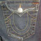 "True Religion Womens Jeans, Waist 30"", Inseam 32"", Dark, Joey *EUC* Boot Cut"