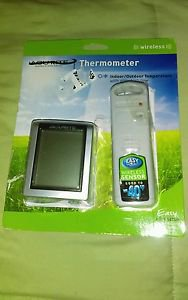 Acurite Digital Indoor / Outdoor Wireless Thermometer Daily Hi/Lo Brand New READ