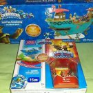 Skylanders Funplay Hideaway Flynns Ship Storage + Mega Blocks Trap Team Pack NIB