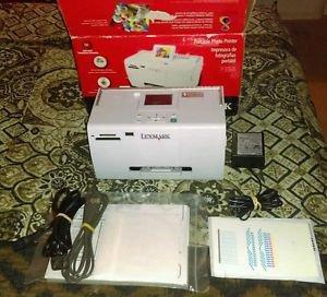 Lexmark P350 Portable Digital Photo Inkjet Printer *EUC* 100% TESTED & WORKING