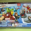 Disney INFINITY: Marvel Super Heroes 2.0 Edition Starter Pack - PS3 *Brand New*