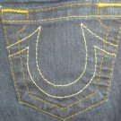 "True Religion Womens Jeans, Waist 26"", Inseam 31"", Dark, *EUC* Claire, Boot Cut"