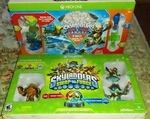 2 Skylanders Starter Pack Bundles: Trap Team & Swapforce (Xbox One) *New Sealed*