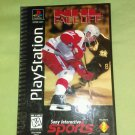 NHL FaceOff (Playstation 1 / PS1) Complete W/ Longbox & Manual 100% Tested *EUC*