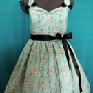 Halter Bow Dress Eiffel Tower Antoinette Lolita Other Fabrics