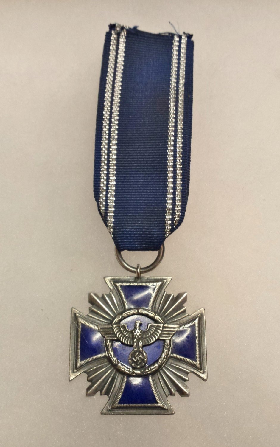 WWII GERMAN SA LONG SERVICE MEDAL - 15 YEAR
