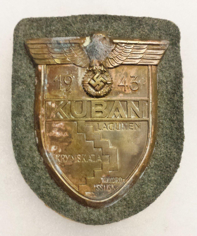 WWII GERMAN KUBAN BATTLE CAMPAIGN SHIELD