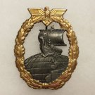 WWII GERMAN KRIEGSMARINE AUXILIARY CRUISER BADGE