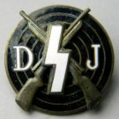 WWII GERMAN NAZI HITLER YOUTH DJ SHOOTING BADGE