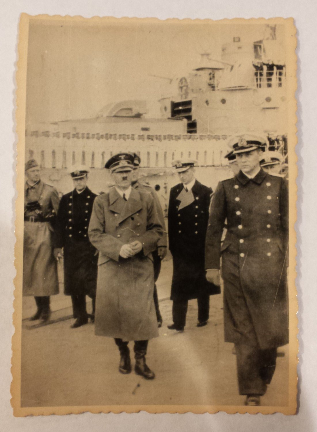 WWII GERMAN LEADER ADOLF HITLER PHOTO - ORIGINAL