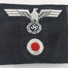 WWII GERMAN M43 PANZER CAP BEVO EAGLE