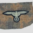 WWII GERMAN NAZI SS TROPICAL SMOCK SLEEVE EAGLE