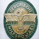 WWII GERMAN NAZI MOUNTAIN POLICE BADGE