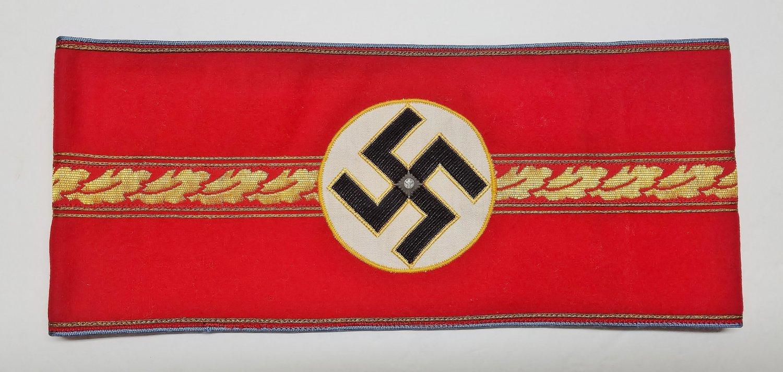 WWII GERMAN NAZI ORTS ADMINISTRATIVE LEADERS ARMBAND