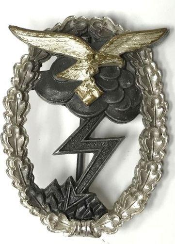 WWII GERMAN NAZI LUFTWAFFE GROUND ASSAULT BADGE