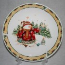 Gibson Debi Hron Snowman Frolic Dinner Plate MULTIPLES AVAILABLE