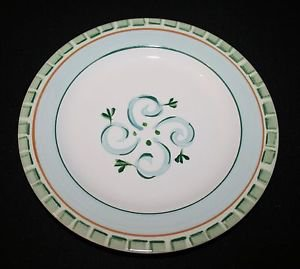 MINT Pfaltzgraff Everyday Trevi Salad Plate Green  MULTIPLES AVAILABLE