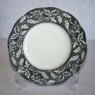 J&G Meakin RENAISSANCE Black Dessert Plate English Sterling MULTIPLES AVAILABLE