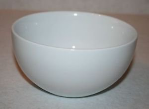 "Tabletops Gallery WHITE 6 3/8"" Soup/Cereal Bowls MULTIPLES AVAILABLE"