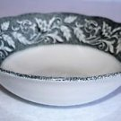 "J&G Meakin RENAISSANCE Black Vegetable Serving Bowl 8 1/2"" English Sterling"